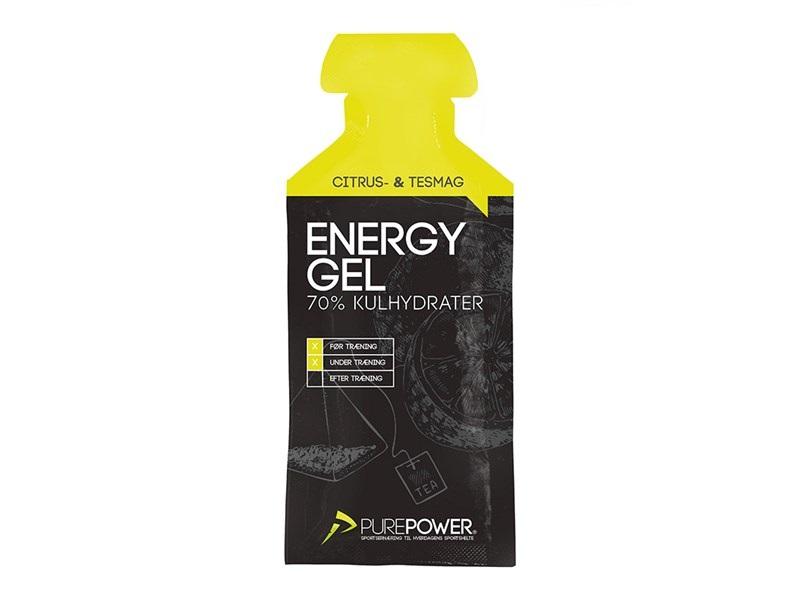 PurePower Energy Gel, Lemon Tea