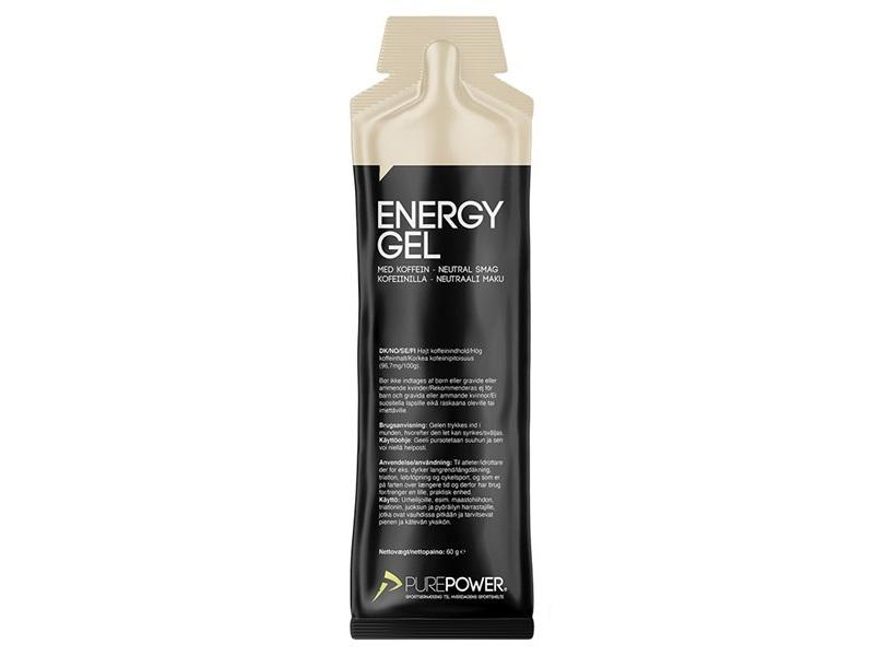 PurePower Caffeine Energy Gel, Neutral