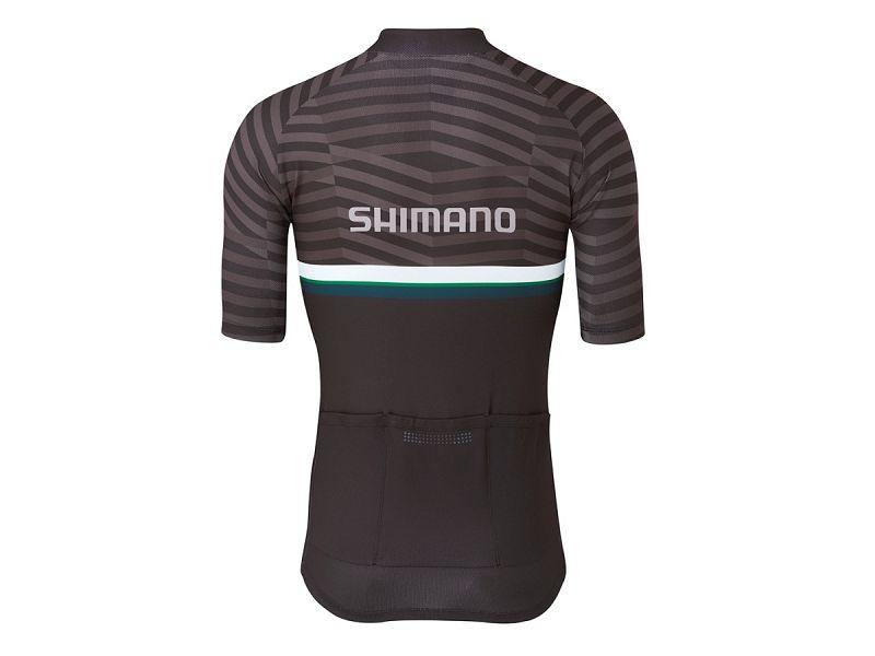 Shimano Team Performance Cykeltrøje, Black/Green