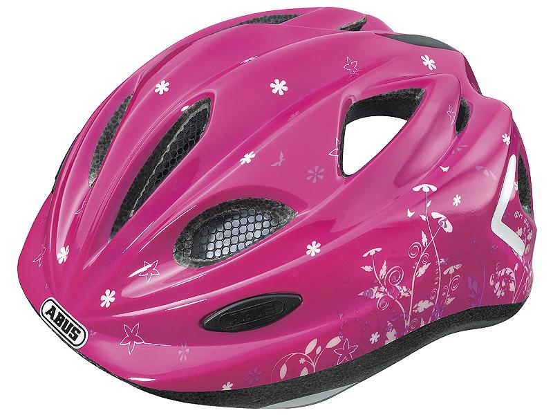 Kendte Abus Super Chilly Børne Cykelhjelm Garden Pink DA-81