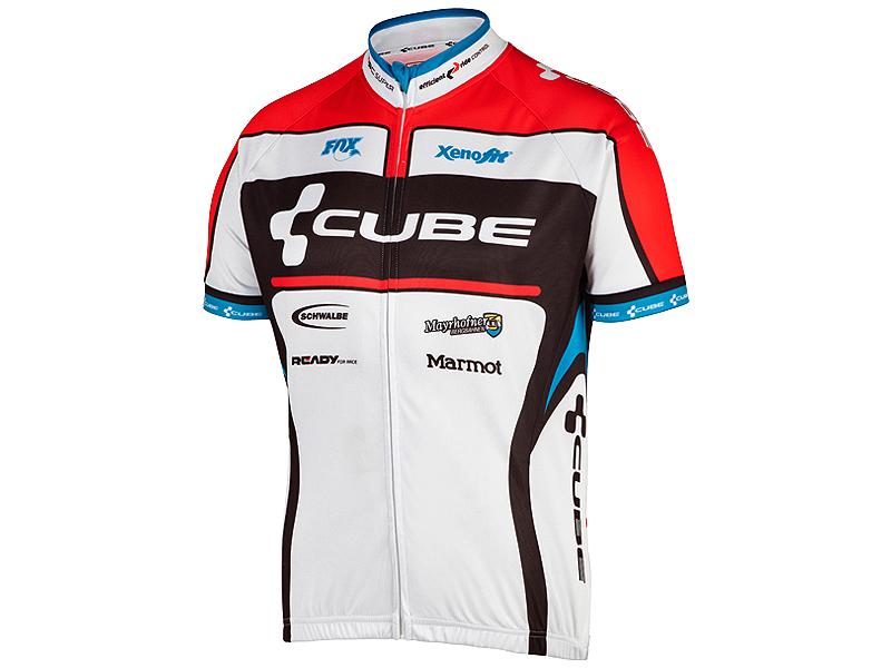 Cube 11000 Teamline Kortærmet Cykeltrøje