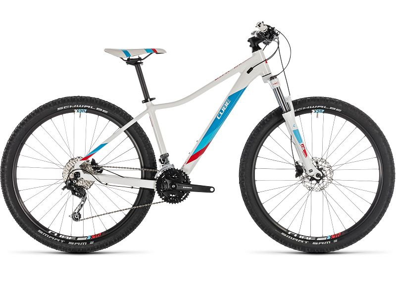 "Cube Access WS Pro 27.5"" hvid - Dame MTB - 2019"