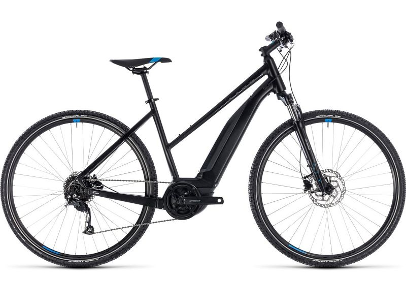 Cube Cross Hybrid One 400 - Elcykel - 2018