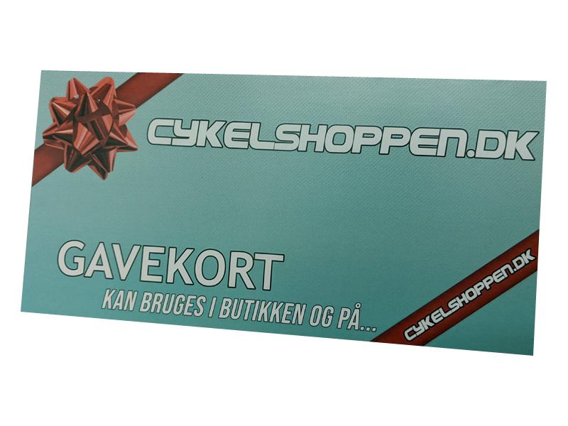 Cykelshoppen.dk Gavekort