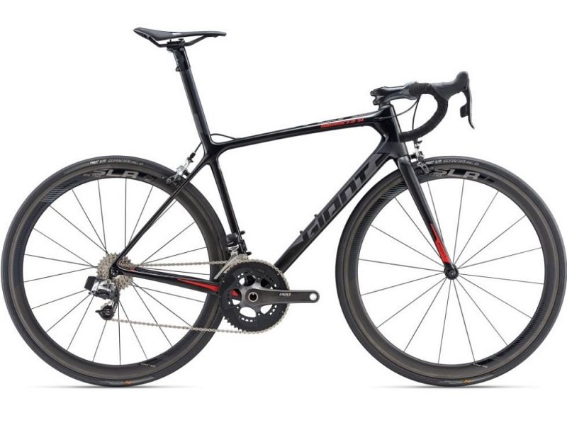 Giant TCR Advanced SL 0 Red - Racercykel - 2019