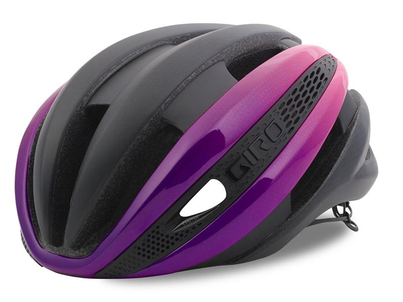 Giro Synthe MIPS Cykelhjelm, Black/Pink/Purple