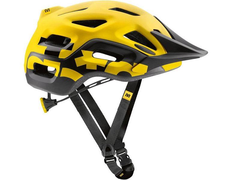 Mavic Notch Cykelhjelm, Yellow/Black