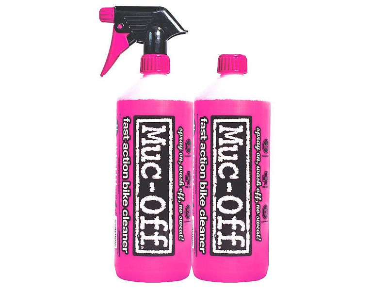 Muc-Off Nano Tech Bike Cleaner Duo-Pack, 2 x 1 L