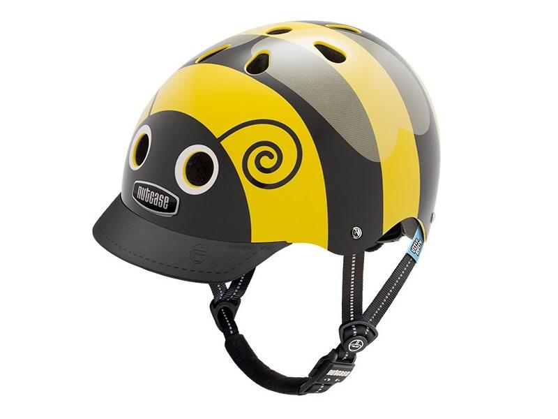 Nutcase Gen3 Little Nutty Cykelhjelm, Bumblebee