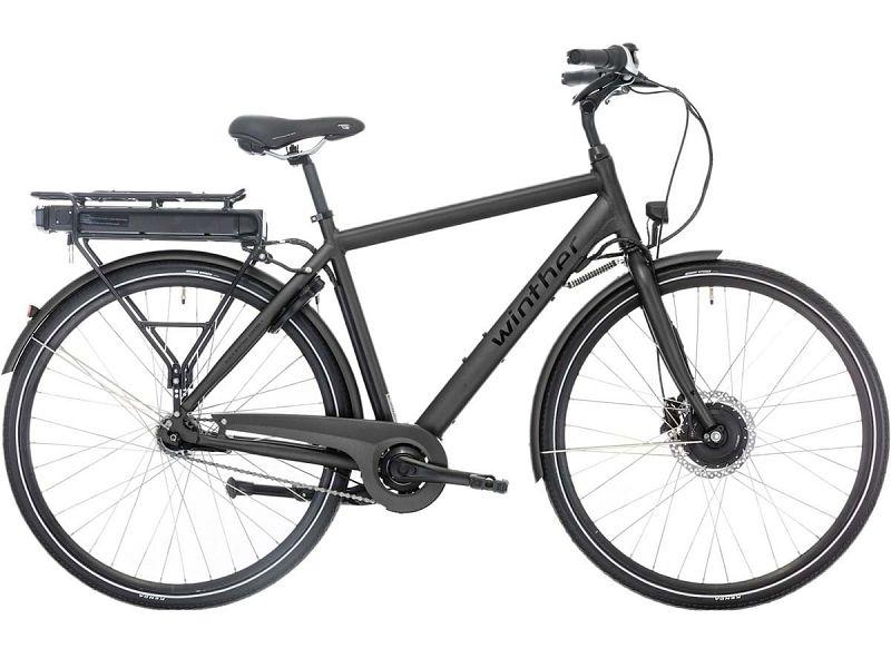 Winther Black Superbe 1 - Elcykel - 2019