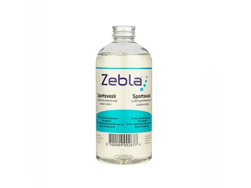 Zebla Sports Wash Vaskemiddel, 500ml