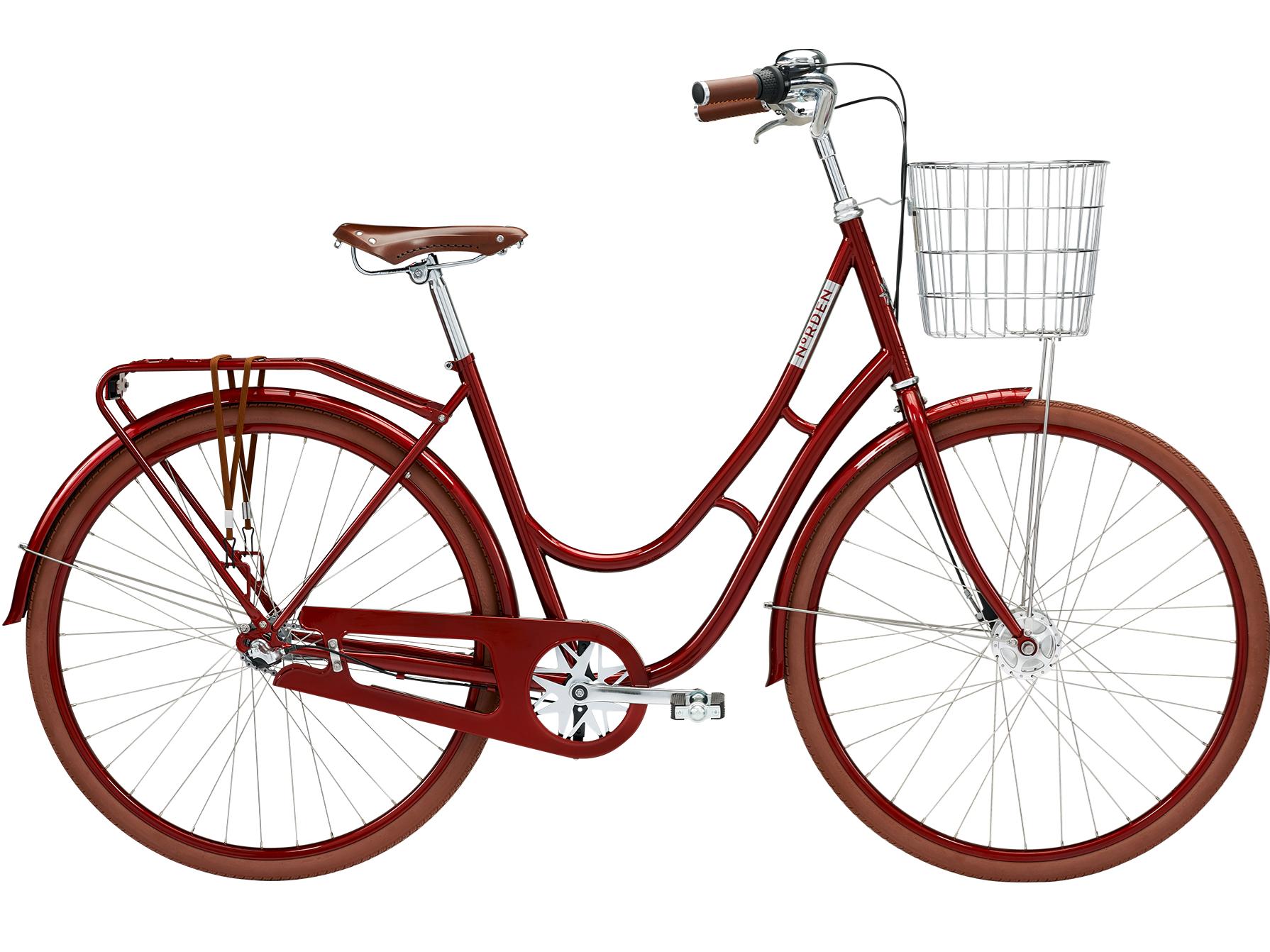 Norden Agnes 7 Red - Damecykel - 2021 | city-cykel
