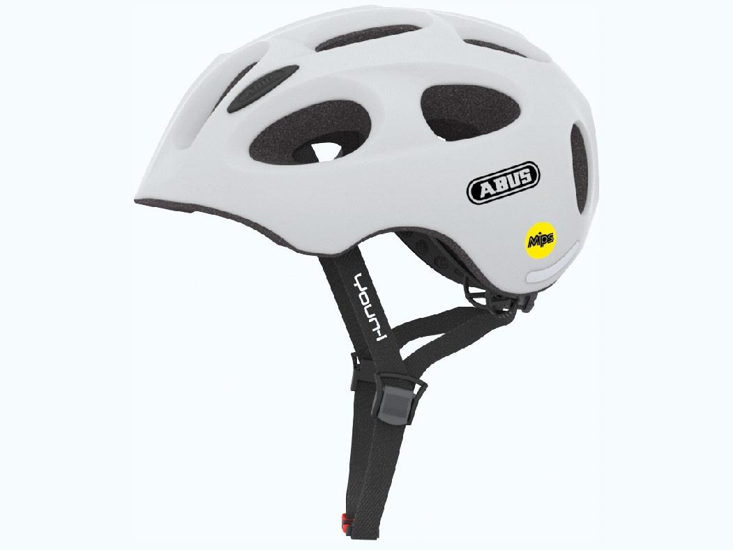 Abus Youn-I MIPS Cykelhjelm, Polar Matt | cykelhjelm