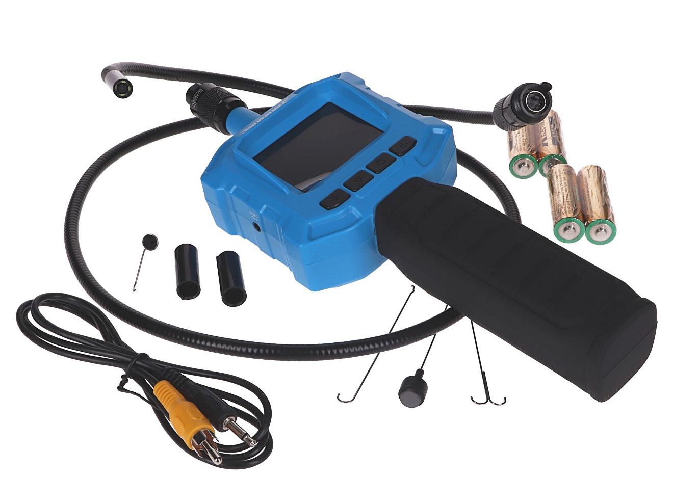 Videoinspektionskamera - Silverline   værktøj