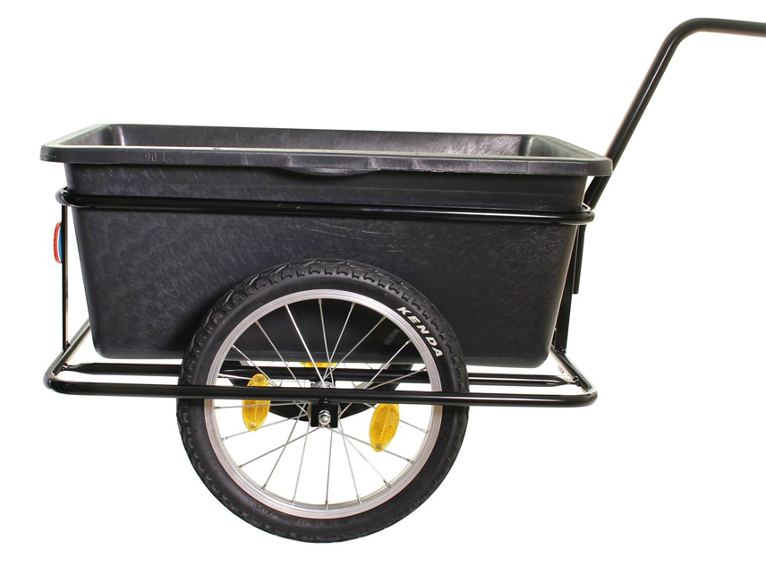 "Cykelanhænger Roland Big Boy 16"" hjul   cykeltrailer"
