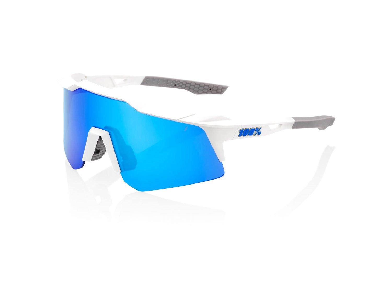 100% SpeedCraft XS Solbriller, Matte White | cykelbrille