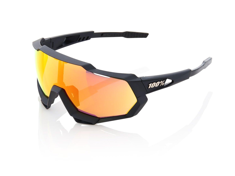 100% Speedtrap Solbriller, Soft Tact Black | cykelbrille