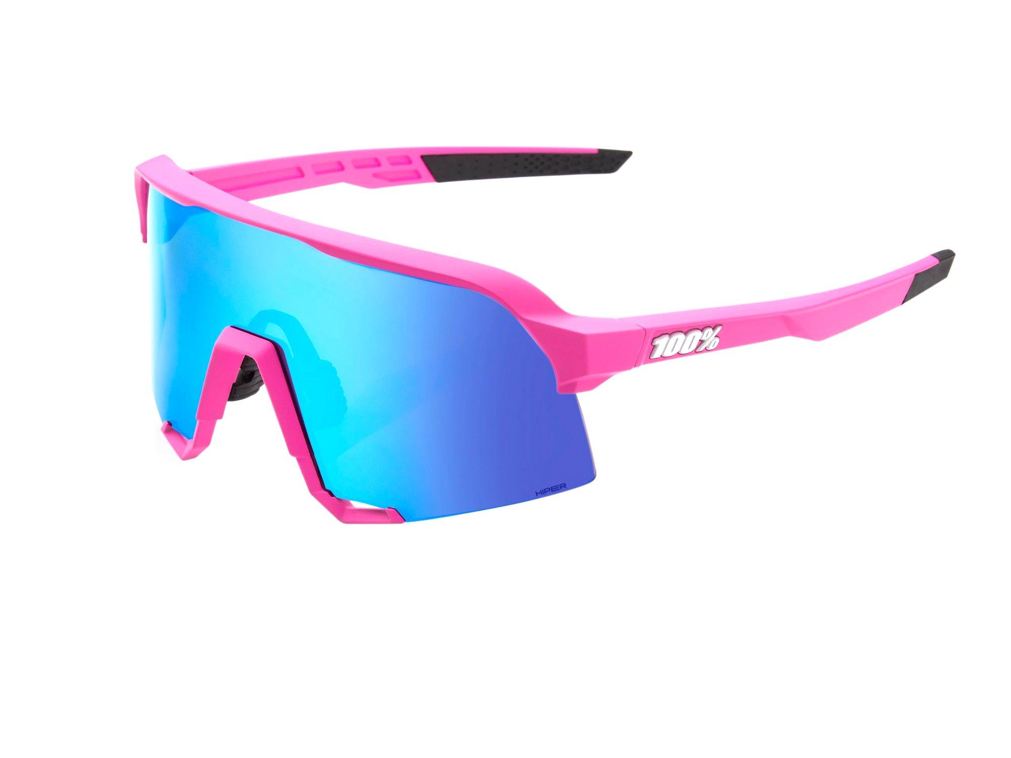 100% S3 Solbriller, Matte Pink | cykelbrille