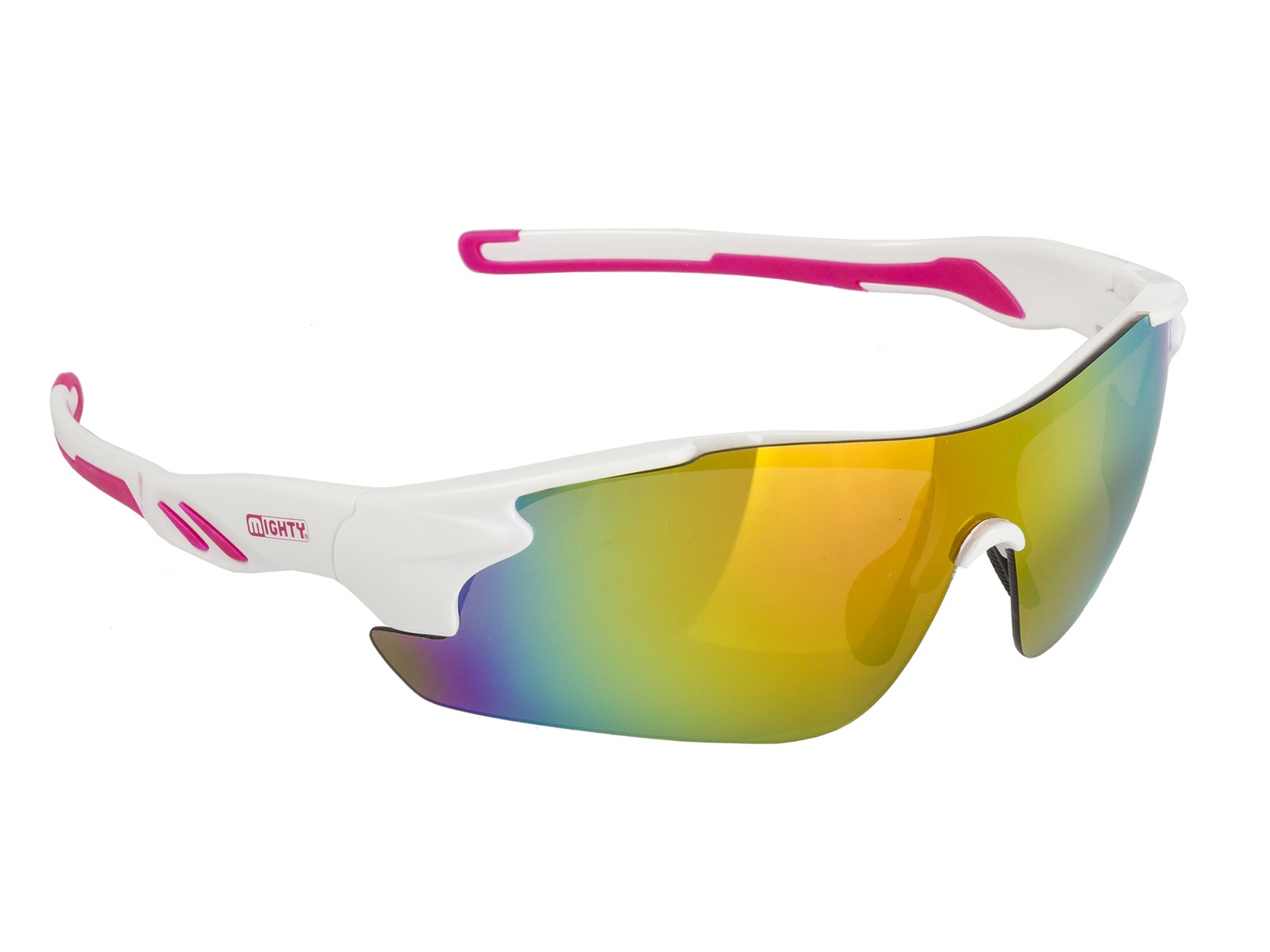 Mighty Rayon One Solbriller, White | cykelbrille