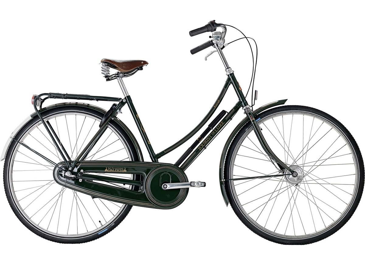 Raleigh Tourist de Luxe Herre 7g 2021 - Sort | city-cykel