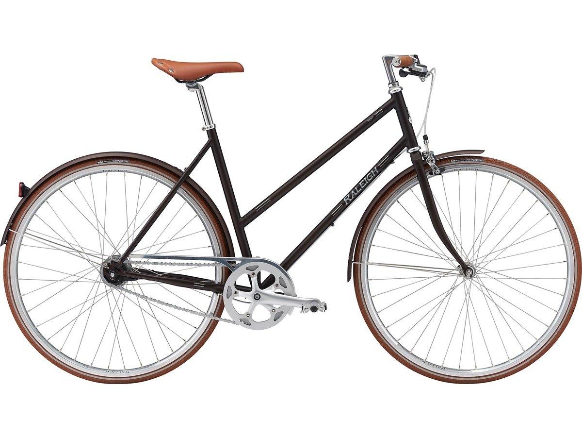 Raleigh Kent 3 Bordeaux - Damecykel - 2021   city-cykel