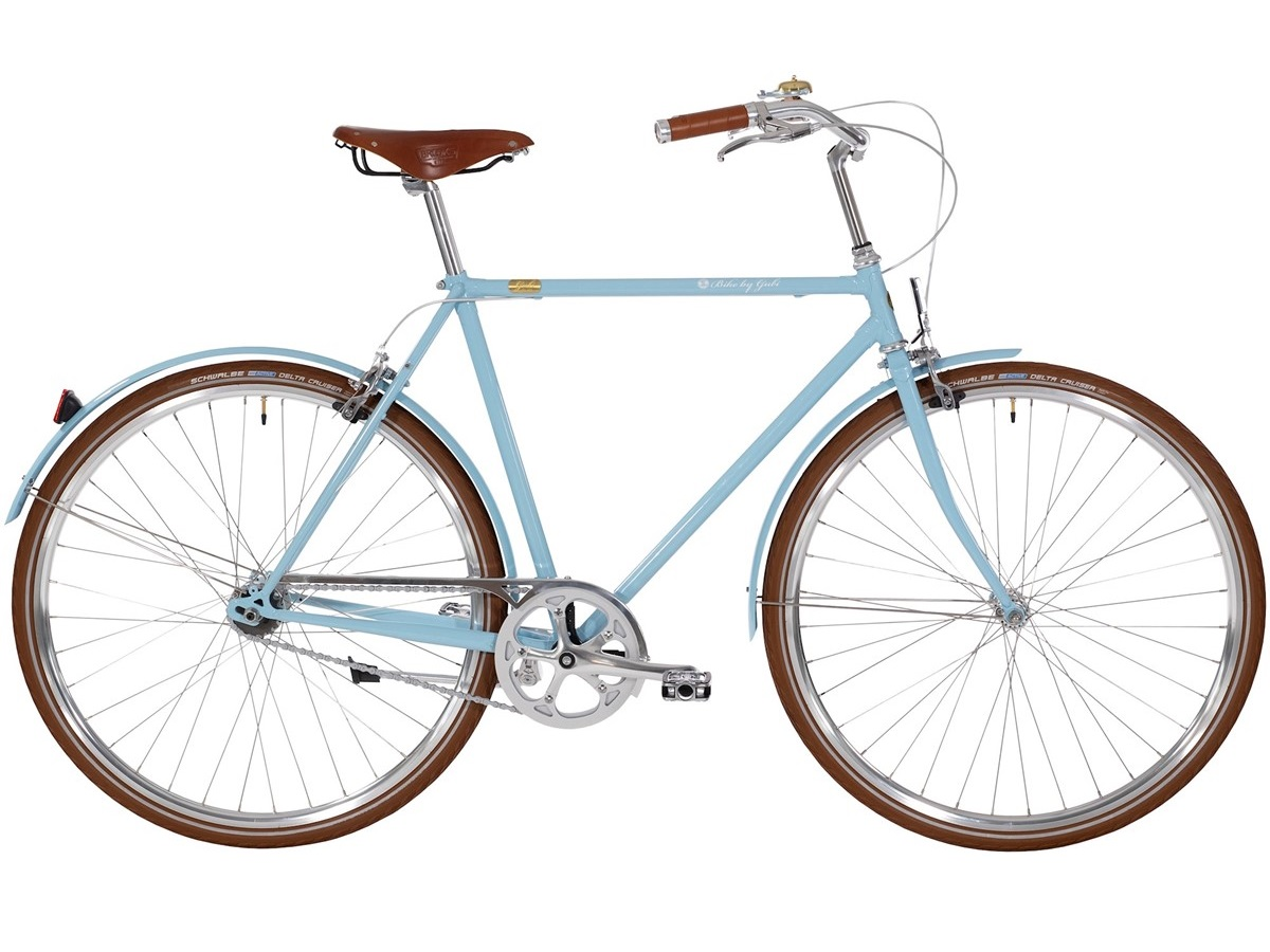Bike By Gubi 7 Blue Heaven - Herrecykel - 2021 | city-cykel