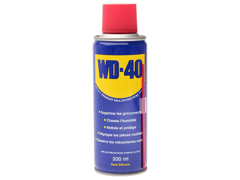WD40 Multispray, 200ml   rengøring og smøremidler