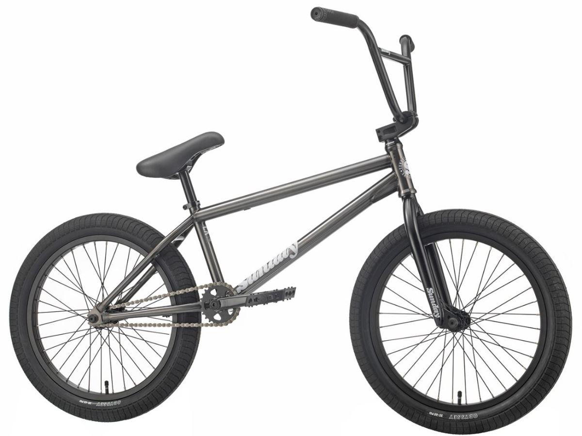 "Sunday EX 21"" - Freestyle BMX - Chris Childs Matt Trans Black | BMX-cykel"
