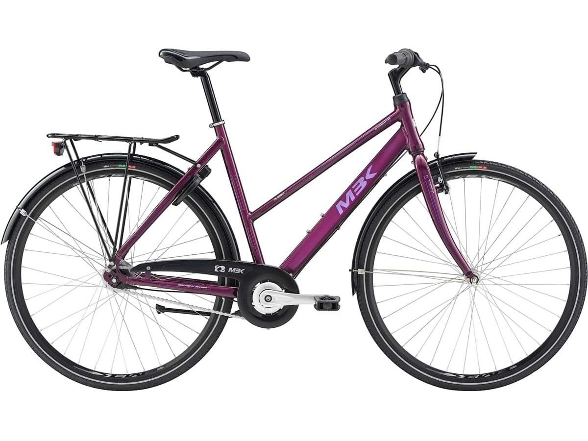 MBK Smogbuster 1 blank sort Damecykel 2021 | city bike