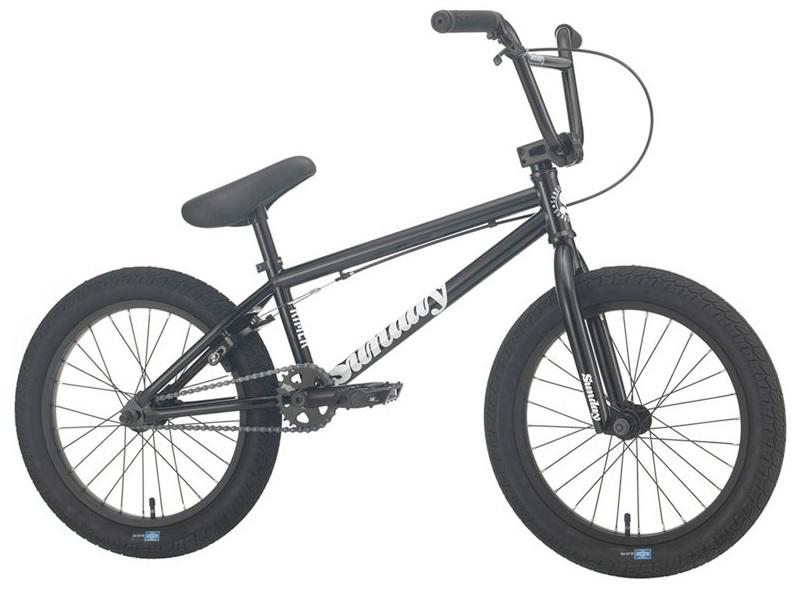"Sunday Primer 18"" Black - Freestyle BMX - 2021 | BMX-cykel"